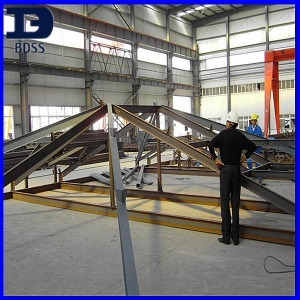 China prefabricated house steel structurae on sale