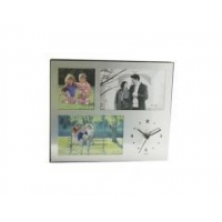 China desk & table clock photo frame stand clock on sale