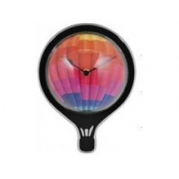 China Fashionable hot air balloon shaped acrylic wall clock on sale