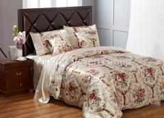 China Silk bed sheets on sale