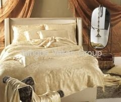 China Jacquard silk bed sheets on sale