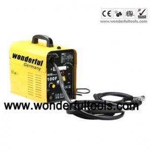 China MIG welding machine gasless design using Flux cored wire only on sale