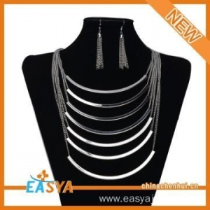 China African Jewelry Set Costume Jewelry Necklace Sets on sale