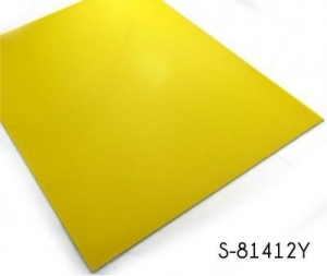 China Classic Lemon Yellow Solid Color Vinyl Floor Tile on sale