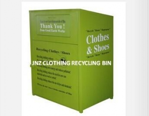 China Clothes donation bin - Hulk Series on sale