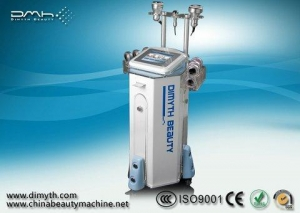 China DM-8001 Standing Ultrasonic Cavitation And Micro-Current Slimming Beauty Equipment on sale