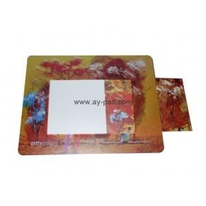 China Mouse pad with picture frame on sale