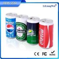 China High quality grade Sprite Coca cola power bank mini portable power bank on sale