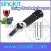 China Brix/Baume W25V/V Wine Refractometer RHW-25DATC for sale