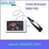 China Wifi with Android system Screen Borescope SK002MD MID for sale