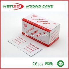 China HENSO Medical 70% Isopropyl Alcohol Swab on sale