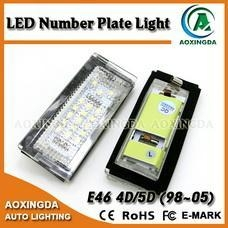 China E46 4D(98-05) license plate light on sale