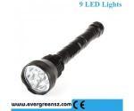 BF 3C New design 9x CREE XM-L T6 11000LM LED Flash Torch Light