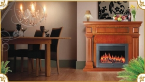 China Insert Electric Fireplace on sale