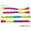 China Decorative pattern silicone bracelets for sale