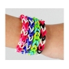 China Colorfull silicone bracelets for wristband for sale