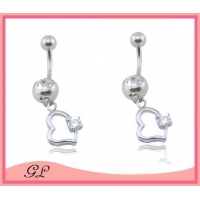 GL-BR01426 Nickel free belly button rings navel piercing ring