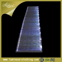 YQ-56 light up table runner, party table runner, banquet table runner, wedding table runner