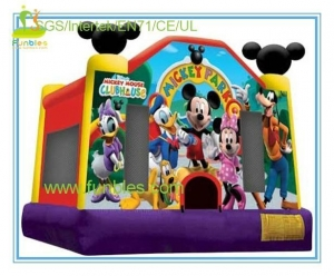 China mickey mouse inflatable bounce house on sale