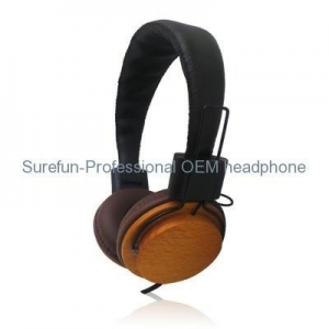China wood headphones real wooden headphone headphone wood on sale