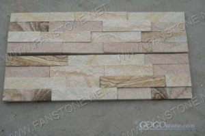 China Sandstone stacked stone on sale