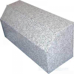 China G341 grey granite curbstone ,paving stone on sale
