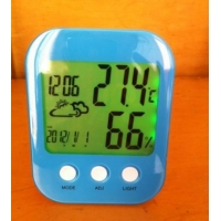 China Wireless Weather Station Clock on sale