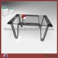 China Black acrylic/perspex ingenious-designed dining-table on sale