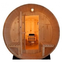 China Wood Barrel Sauna Room on sale