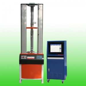 China HZ-1004B 50N~2000N Desktop Computer Servo Universal Tensile Testing Machine (with extensometer) on sale