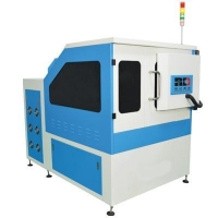 Enclosed 600W yag metal laser cutter