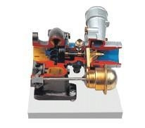 China Plunger type exhaust gas turbocharger dissection model on sale