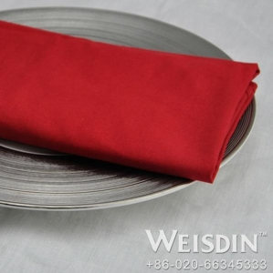 China 5 star hotel red color christmas paper dinner napkins on sale