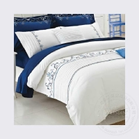 100% cotton with polyester filling hotel bedding