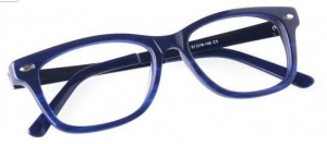 China Unisex full frame mixed material eyeglasses on sale