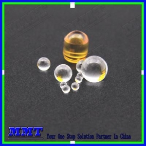 China 0.75mm-50mm optical glass, Sapphire, Ruby, Fused silica, ball lens on sale
