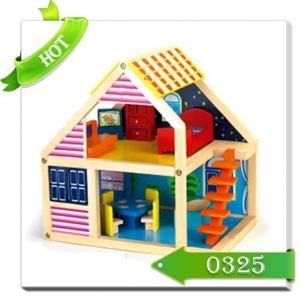 China Doll house baby doll house wooden toy doll house on sale