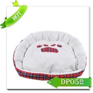 China Luxury pet bed plush for dog sleeping on sale