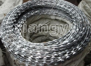 China Barbed Wire and Razor Wire on sale