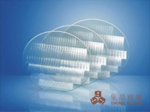 China Fused silica glass wafer on sale