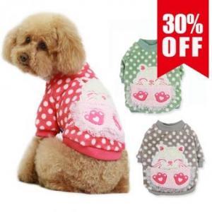 China Big Face Cat Dog Tshirt on sale