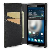 Apple TETDED Premium Leather Case for ZTE Grand Memo II LTE -- Gerzat II (LC: Black)
