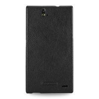 TETDED Premium Leather Case for ZTE Grand Memo II LTE -- Caen (LC: Black)