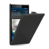 TETDED Premium Leather Case for ZTE Grand Memo II LTE -- Troyes (LC: Black)