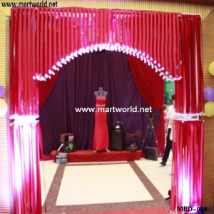 China elegant wedding stage decoration (MBD-004) on sale