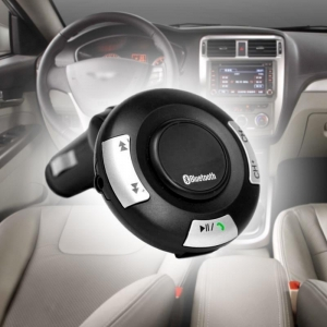 China NEW car bluetooth FM transmitter with hands-free on sale