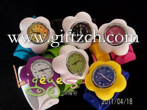 China Flower Silicone slap Watch for kids, Children on sale