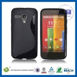 China C&T rubber Flexible TPU case for moto g on sale