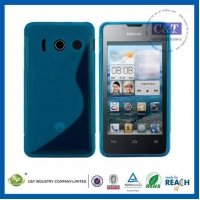 China C&T S Line design TPU CASE for Huawei Ascend Y300 on sale