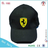 100%cotton el light cap cool logo panel cap El logo cap